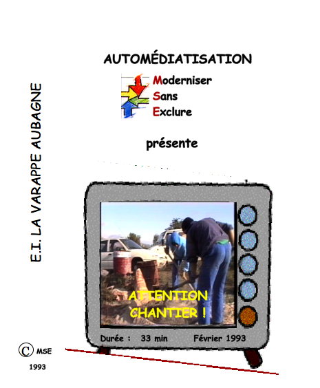 jacquette du film Attention chantier